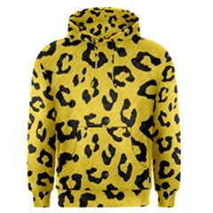 Skin5 Black Marble & Yellow Colored Pencil (r) Men s Pullover Hoodie