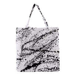 Ink Splatter Texture Grocery Tote Bag