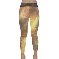 Golden God Yoga Leggings