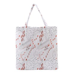 Musical Scales Note Grocery Tote Bag