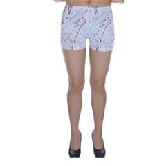 Musical Scales Note Skinny Shorts
