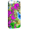 Painting Map Pink Green Blue Street Apple iPhone 5 Classic Hardshell Case View2