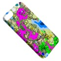 Painting Map Pink Green Blue Street Apple iPhone 5 Classic Hardshell Case View5