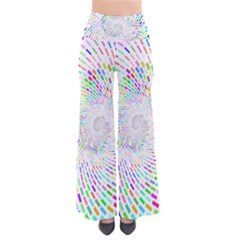 Prismatic Abstract Rainbow Pants