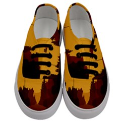 Road Trees Stop Light Richmond Ace Men s Classic Low Top Sneakers
