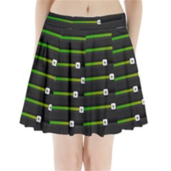 Stock Illustration Rendering Seven Volume Pleated Mini Skirt