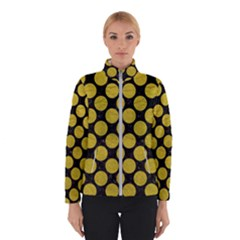Circles2 Black Marble & Yellow Leather (r) Winterwear