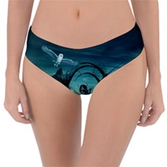 Cute Fairy Dancing On The Moon Reversible Classic Bikini Bottoms