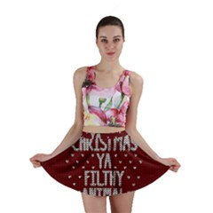 Ugly Christmas Sweater Mini Skirt