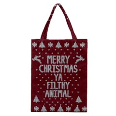 Ugly Christmas Sweater Classic Tote Bag