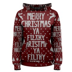 Ugly Christmas Sweater Women s Pullover Hoodie