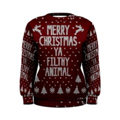 Ugly Christmas Sweater Women s Sweatshirt