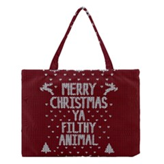 Ugly Christmas Sweater Medium Tote Bag