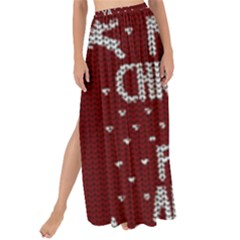 Ugly Christmas Sweater Maxi Chiffon Tie Up Sarong