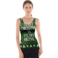 Ugly Christmas Sweater Tank Top