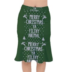 Ugly Christmas Sweater Mermaid Skirt