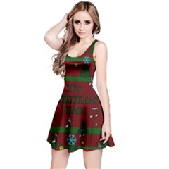 Ugly Christmas Sweater Reversible Sleeveless Dress