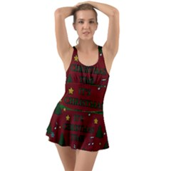 Ugly Christmas Sweater Swimsuit