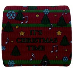 Ugly Christmas Sweater Back Support Cushion
