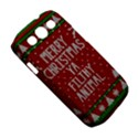 Ugly Christmas Sweater Samsung Galaxy S III Classic Hardshell Case (PC+Silicone) View5