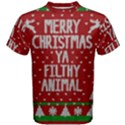 Ugly Christmas Sweater Men s Cotton Tee View1