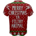 Ugly Christmas Sweater Men s Cotton Tee View2