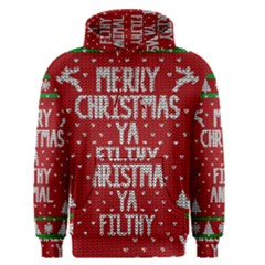 Ugly Christmas Sweater Men s Pullover Hoodie