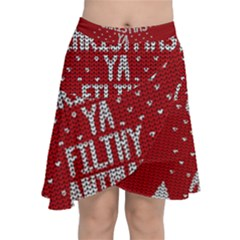 Ugly Christmas Sweater Chiffon Wrap