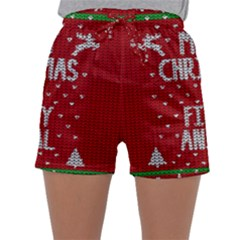 Ugly Christmas Sweater Sleepwear Shorts
