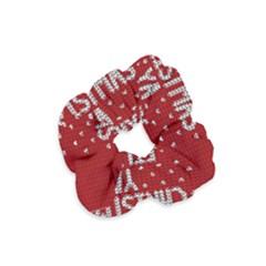Ugly Christmas Sweater Velvet Scrunchie