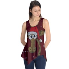 Christmas Giraffe  Sleeveless Tunic