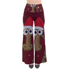 Christmas Giraffe  Pants