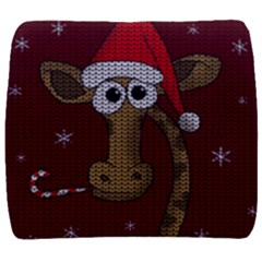 Christmas Giraffe  Back Support Cushion