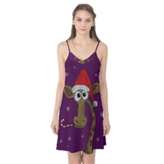 Christmas Giraffe  Camis Nightgown