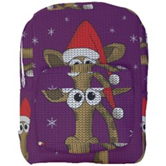 Christmas Giraffe  Full Print Backpack
