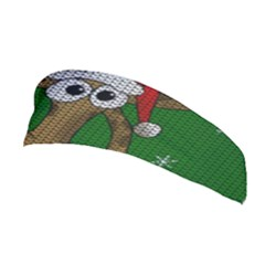 Christmas Giraffe  Stretchable Headband