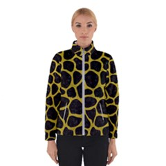 Skin1 Black Marble & Yellow Leather Winterwear