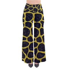 Skin1 Black Marble & Yellow Leather Pants