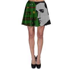 Elvis Presley   Christmas Skater Skirt