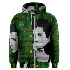 Elvis Presley   Christmas Men s Zipper Hoodie