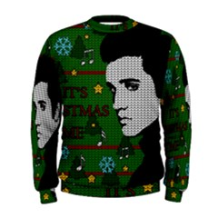 Elvis Presley   Christmas Men s Sweatshirt