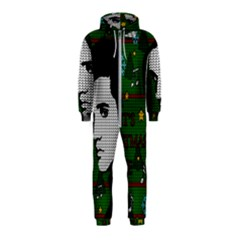Elvis Presley   Christmas Hooded Jumpsuit (kids)
