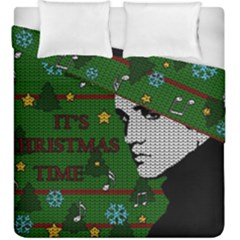 Elvis Presley   Christmas Duvet Cover Double Side (king Size)