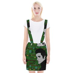 Elvis Presley   Christmas Braces Suspender Skirt