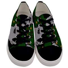 Elvis Presley   Christmas Men s Low Top Canvas Sneakers