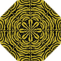 Skin2 Black Marble & Yellow Leather Hook Handle Umbrellas (small)