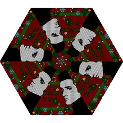 Elvis Presley   Christmas Mini Folding Umbrellas