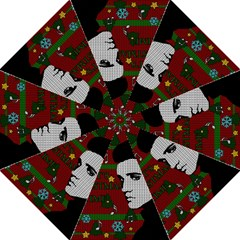 Elvis Presley   Christmas Golf Umbrellas