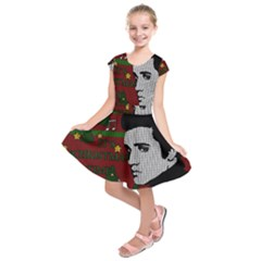Elvis Presley   Christmas Kids  Short Sleeve Dress