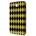 DIAMOND1 BLACK MARBLE & YELLOW WATERCOLOR Samsung Galaxy Tab 3 (7 ) P3200 Hardshell Case  View3